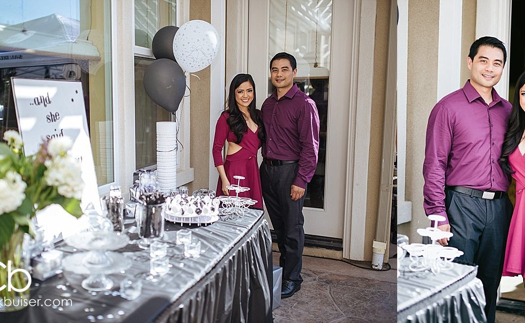 San Diego Engagement Party | Melvin and Christel