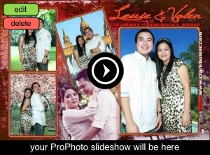 Batangas City Photobooth | Louie + Valen